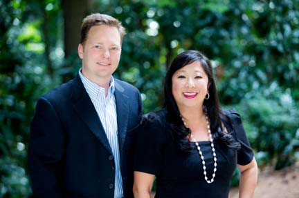 Chris Bethel and Grace Chun